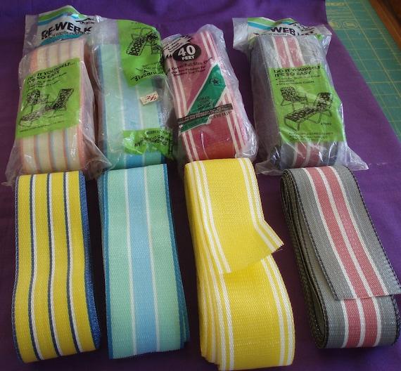 Plastic Ribbon Webbing For Lawn Chair Repair Weaving Fishing