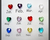 Choice of Birthstone for Floating Charm Lockets