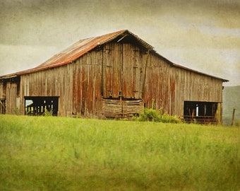 Countryside Barn 8x10 Fine Art Photograph