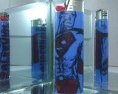 DC Comics SUPERMAN Man of Steel Blue LIGHTER