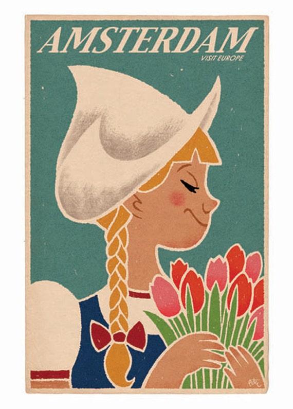 Amsterdam, 11x17 print