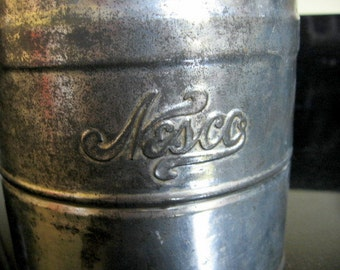SALE 1940s Tin Crank Flour Sifter by Nesco