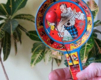 SALE 1950s US Metal Toy Manufacturing Co. Metal Party Noise Maker