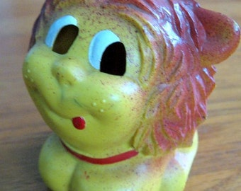 1950s-60s Lehmann Johnny the Lion Friction Toy Made in Western Germany