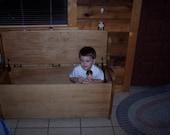 Toy box - blanket chest - hallway bench