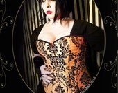 WAS 57.99  Medium -Vintage Halloween Corset-