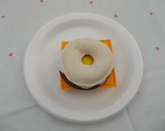 Felt Food - 5 Piece Breakfast Bagel Felt Play Food Set