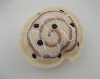 Felt Food - Cinnamon Roll with Icing Felt Play Food