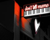 Piano Bar Fine Art Photography Print