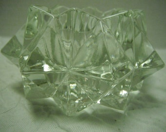 Small crystal Avon bowl