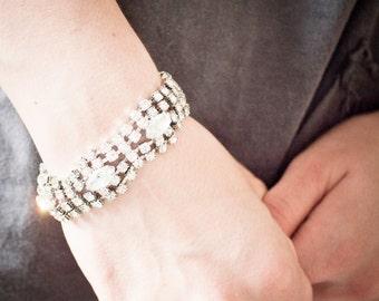 Beautiful Vintage Rhinestone Bracelet