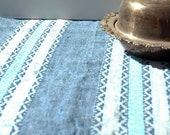 Vintage Denim Southwester Table Cloth