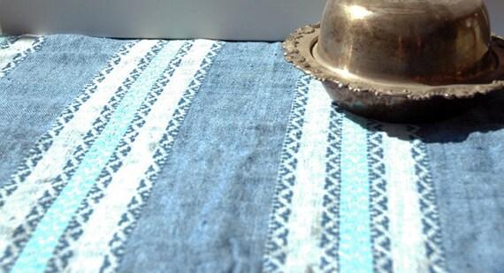 Vintage Denim Southwester Table Cloth
