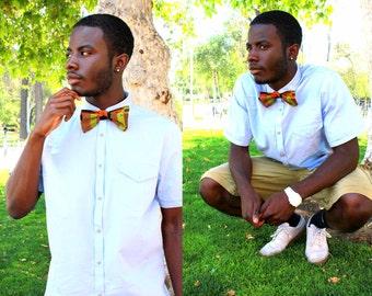 Kente Adjustable Bow Tie