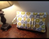 Custom Diaper Clutch with Detachable Changing Pad and Travel Wipes Case with Wipes/ All-in-One Diaper Clutch