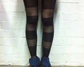Stripe Patterned Tights