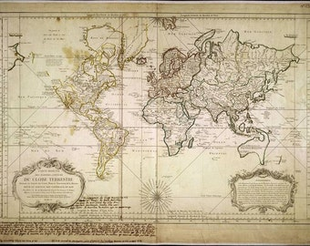 Map of the world, Ancient map, Old world maps, 25