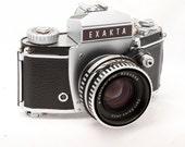 Exakta VX IIb SLR camera - Carl Zeiss Jena Pancolar 50mm 2f Lens