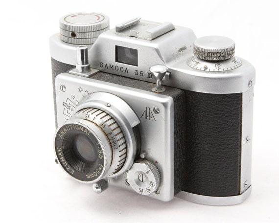 Vintage 35mm Camera SAMOCA 35 II