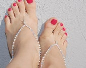 Lavender & Pink Foot Jewelry