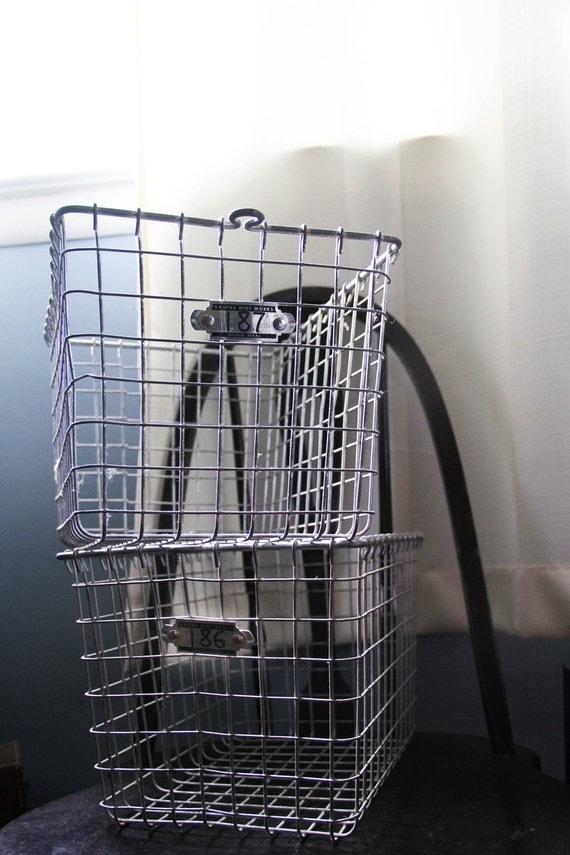 Wire Locker Basket - Number 187