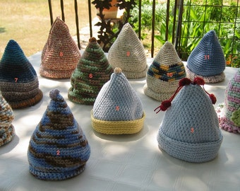 Crocheted Pointed Hat