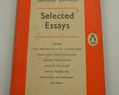 Vintage Penguin Books paperback published in 1960 Selected Essays by George Orwell