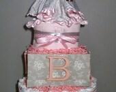 L'Elephant Custom Diaper Cake