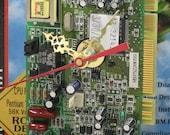 Phoebe PCI Fax Data Modem Desk Clock, Geekery, Clocks by DanO
