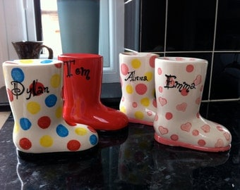 Welly Boot money box...  so cute