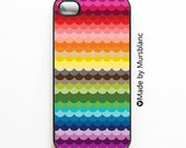 Whimsical Scallop iPhone 4/4S Case