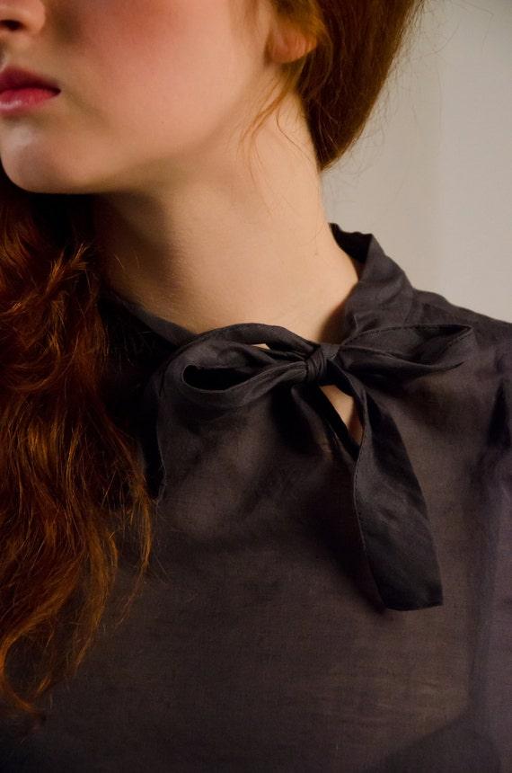 Cotton bow top