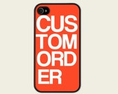 Personalized Your Case for iPhone 5 - FREE SHIPPING