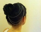 Silver Hair Chain- Inspired by Kim Kardashian