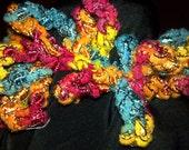 Rustic Ribbon Scrunchie
