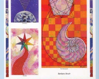 Tarot of Cosmic Consciousness  - Spiritual Journeys, Sacred Geometry,Tarot, Astrology, Qabbalah