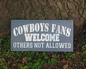 Dallas Cowboys Sign