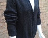 Men's zippered cardigan Item Number 12-0008