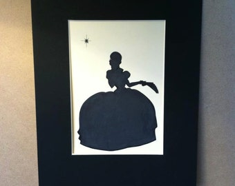 Disney Princess and the Frog Charlotte Silhouette
