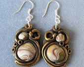 Earrings in stylish design - personal listing for Joy