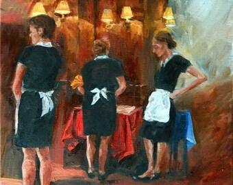 Waiting Waitresses
