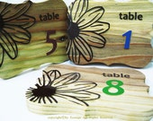 Table number,decoration for wedding ceremony, special party