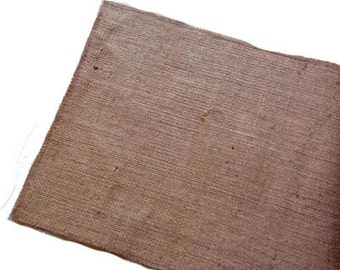 "Burlap Table Runners made in Canada  size 14"" x 72"" to 14"" x 336"""