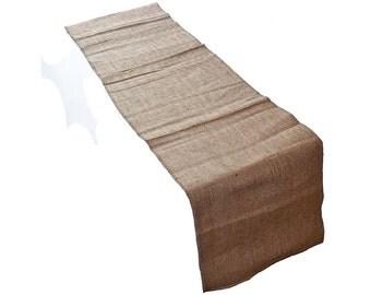 "Burlap table runner 14"" x 90"""