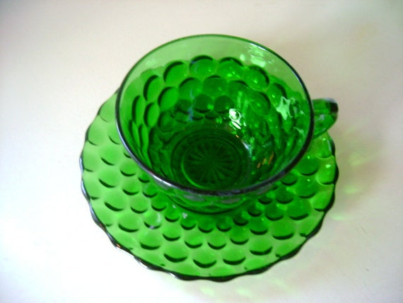 Gorgeous vintage depression era cup and saucer