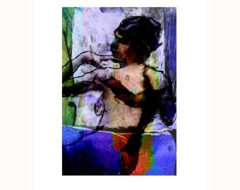 Study 6 - Limited Edition Pigment Print