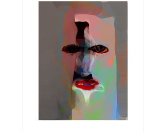 Cat Woman - Limited Edition Pigment Print