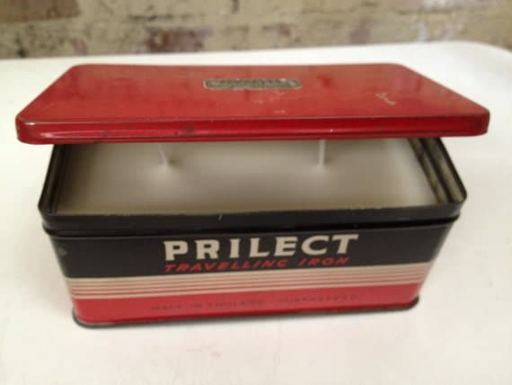 Prilect candle tin