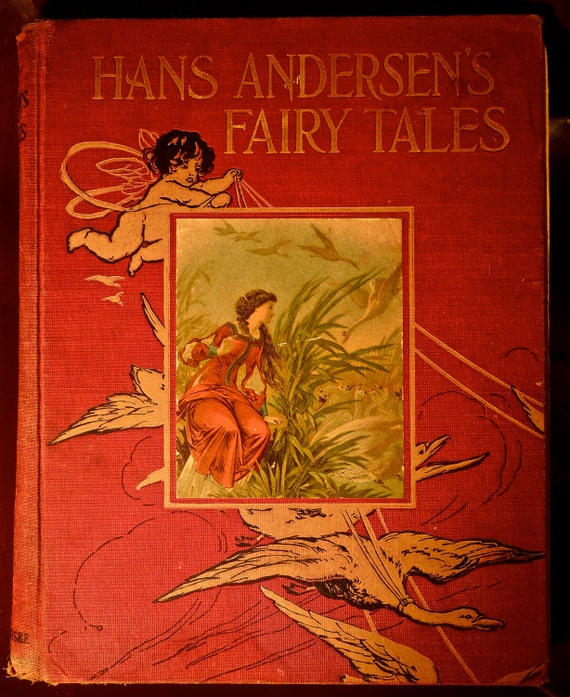 HANS ANDERSENS FAIRY tales vintage Translated from the danish by w. angeldorff