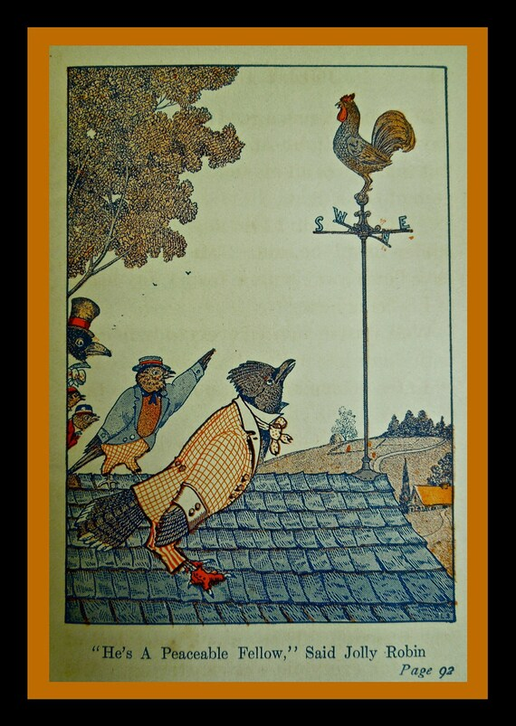 The TALE of JOLLY ROBIN by Arthur Scott Baily  A Tuck- Me- In Tales